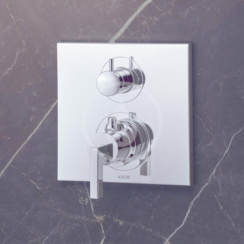 AXOR - Citterio Vanová termostatická podomítková baterie, chrom (39720000)