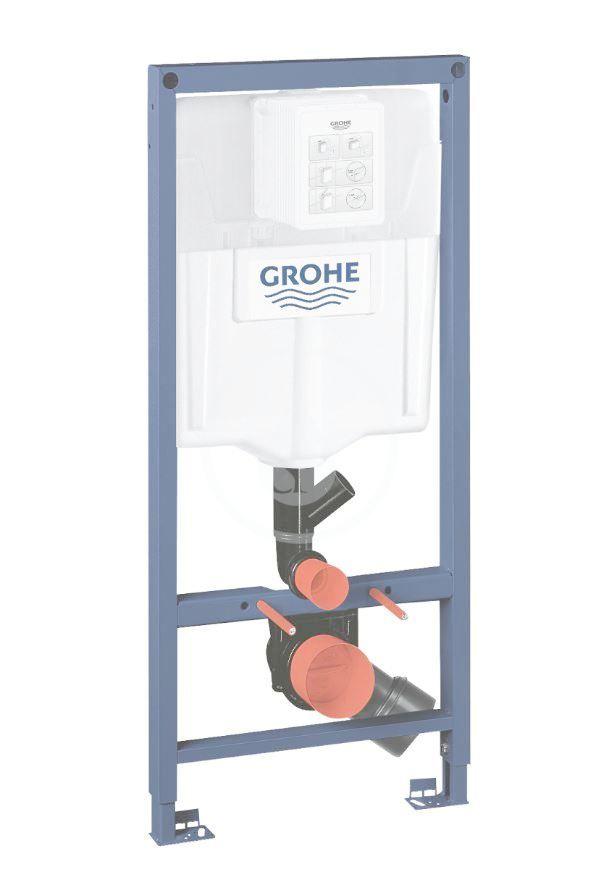 GROHE Rapid SL Předstěnový instalační prvek pro závěsné WC, splachovací nádržka GD2 39002000