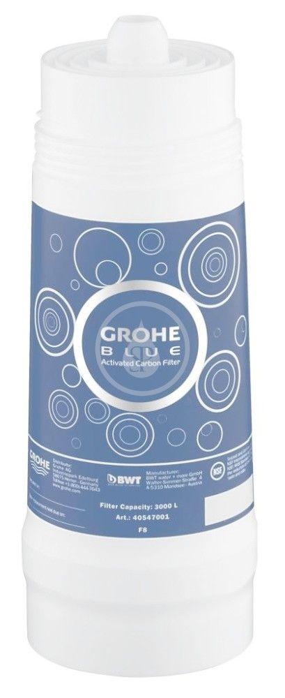 GROHE Náhradní díly Aktivní uhlíkový filtr 40547001