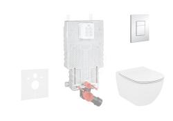GROHE - Uniset Sada pro závěsné WC + klozet a sedátko Ideal Standard Tesi (38643SET-KF)