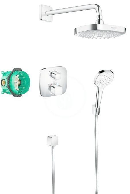 HANSGROHE Croma Select E Sprchový set 180 s termostatem Ecostat E, 2 proudy, chrom 27294000