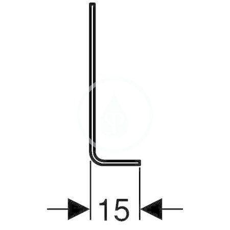 GEBERIT - Kombifix Podpěry pro Kombifix pro závěsné WC nebo bidet (457.888.26.1)