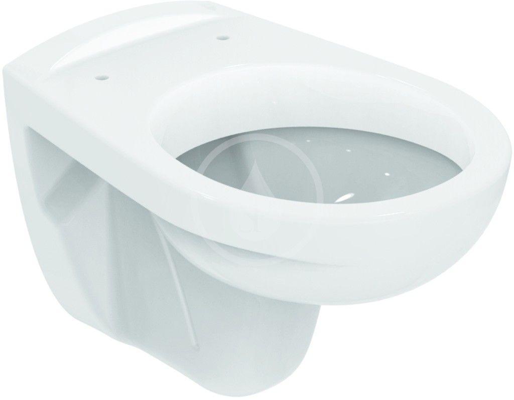 IDEAL STANDARD - Eurovit Závěsné WC, 355x520x350 mm s hlubokým splachováním, bílá (V390601)