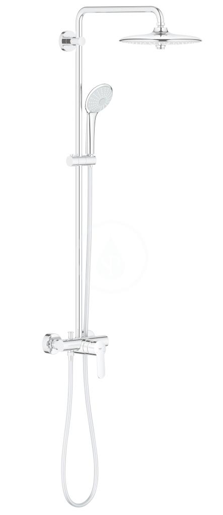 GROHE Euphoria Sprchový set s baterií, 260 mm, chrom 27473001
