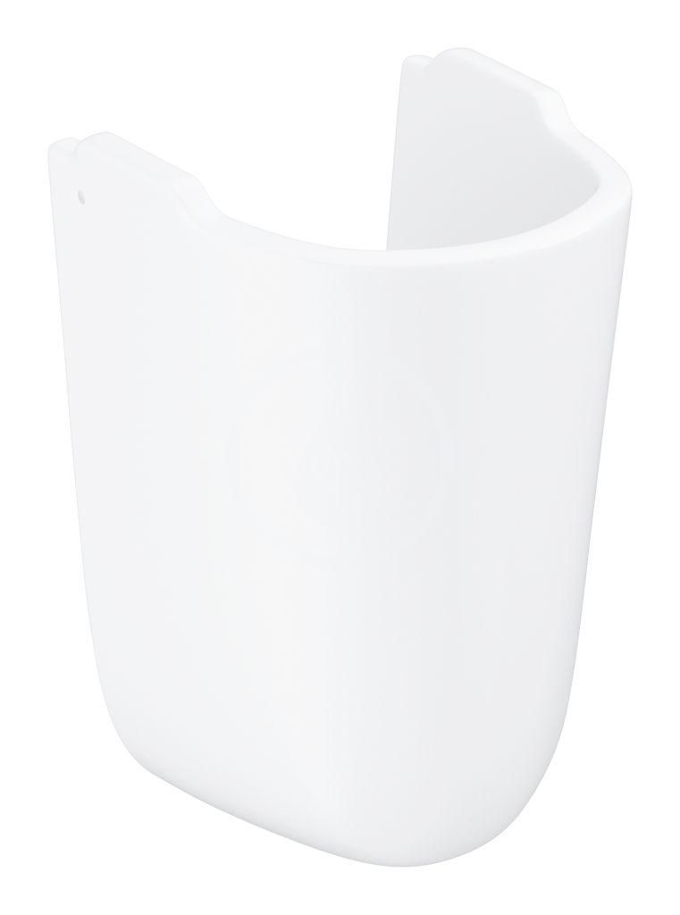 GROHE Bau Ceramic Polosloup pro umyvadlo, alpská bílá 39426000