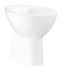 GROHE - Bau Ceramic Stojící WC, Rimless, alpská bílá (39431000)