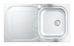 GROHE - Dřezy Dřez K300 s automatickým odtokem, 860x500 mm (31563SD0)