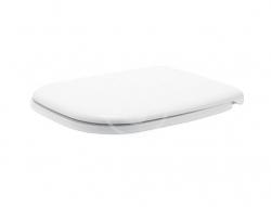 DURAVIT - D-Code WC sedátko se sklápěním SoftClose, bílá (0067390000)