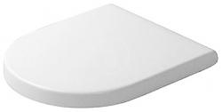 DURAVIT - Starck 3 WC sedátko se sklápěním SoftClose, bílá (0063890000)