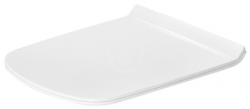 DURAVIT - DuraStyle WC sedátko, bílá (0063710000)