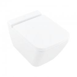 VILLEROY & BOCH - Finion Závěsné WC, DirectFlush, CeramicPlus, alpská bílá (4664R0R1)