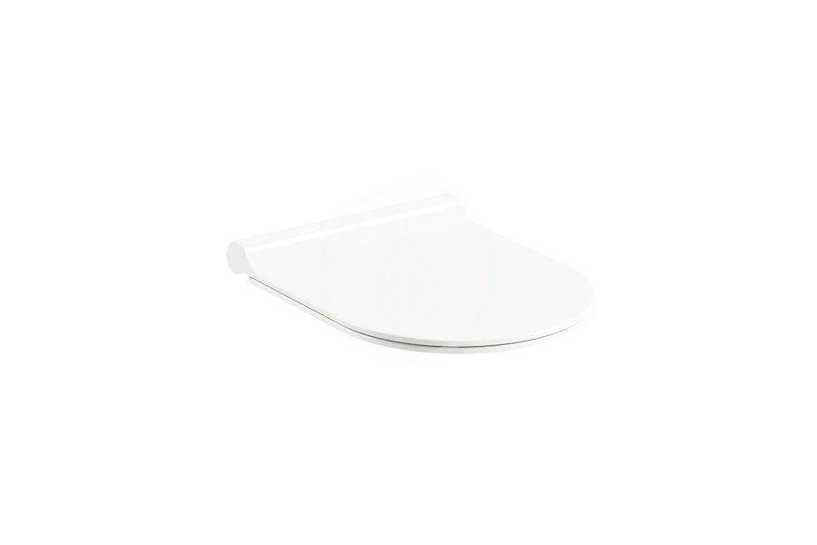 RAVAK Chrome WC sedátko Uni Slim, se sklápěním SoftClose, bílá X01550
