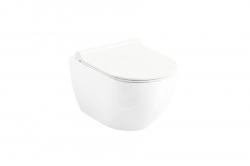 RAVAK - Chrome WC závěsné Uni, RimOff, bílá (X01535)