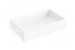 Formy 01 Umyvadlo na desku, 600x390 mm, bílá (XJL01260000) - RAVAK