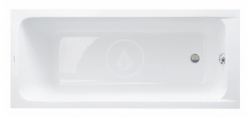 DURAVIT - D-Code Vana 1700x700 mm, alpská bílá (700098000000000)