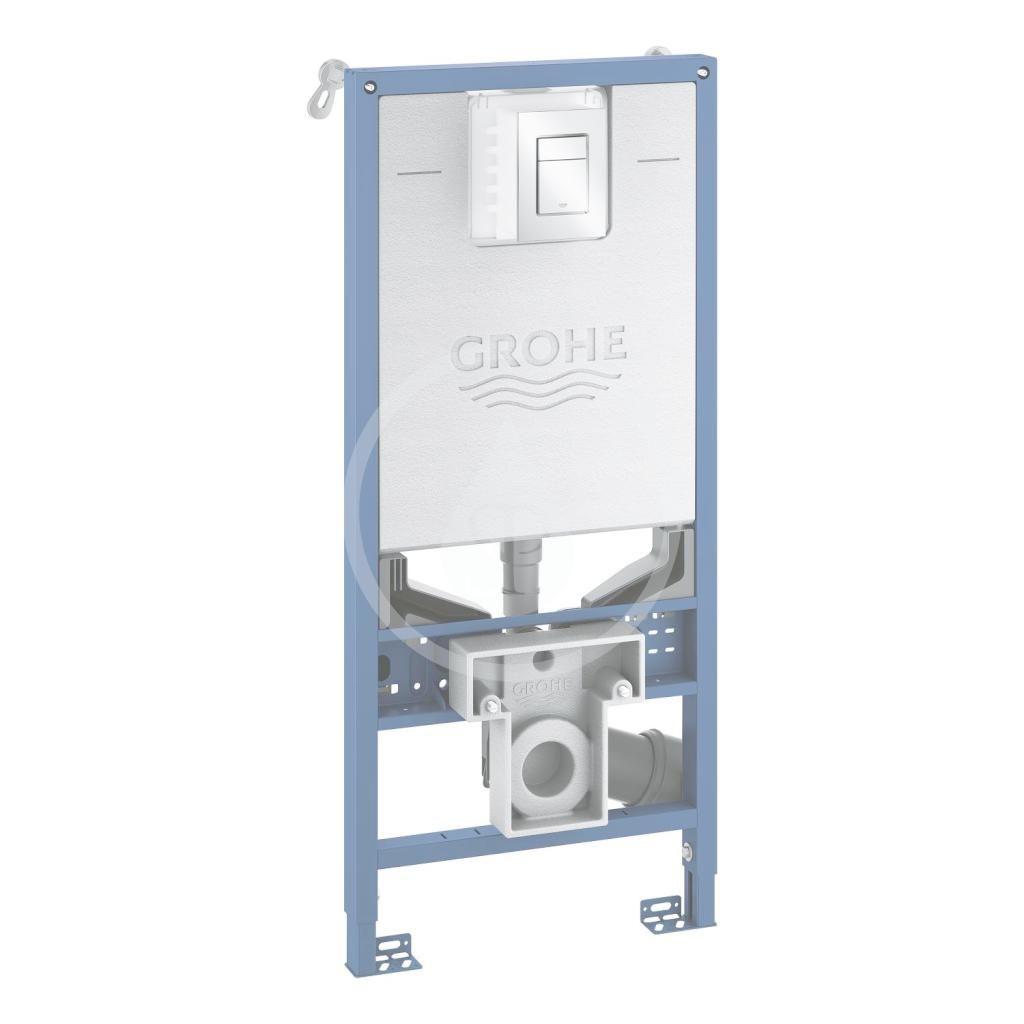 GROHE Rapid SLX Modul pro závěsné WC s nádržkou a tlačítkem, chrom 39603000