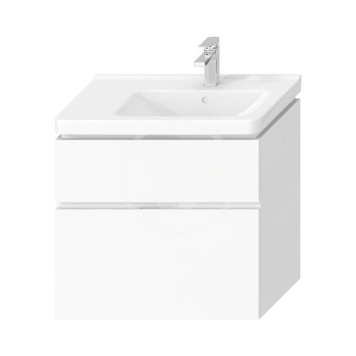 JIKA Cubito Pure Skříňka pod umyvadlo 740x683 mm, výřez vpravo, bílá H40J4254035001
