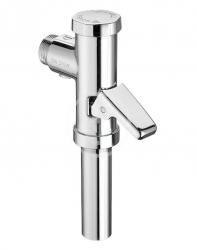 Schellomat Tlakový splachovač WC s páčkou, chrom (022020699)