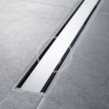 GEBERIT - CleanLine Nerezový sprchový kanálek, 300-900 mm, leštěný kov (154.456.KS.1)