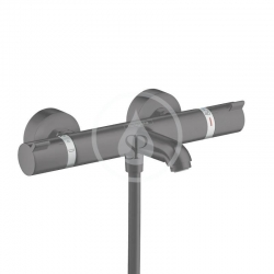 HANSGROHE - Ecostat Comfort Termostatická vanová baterie, matná černá (13114670)