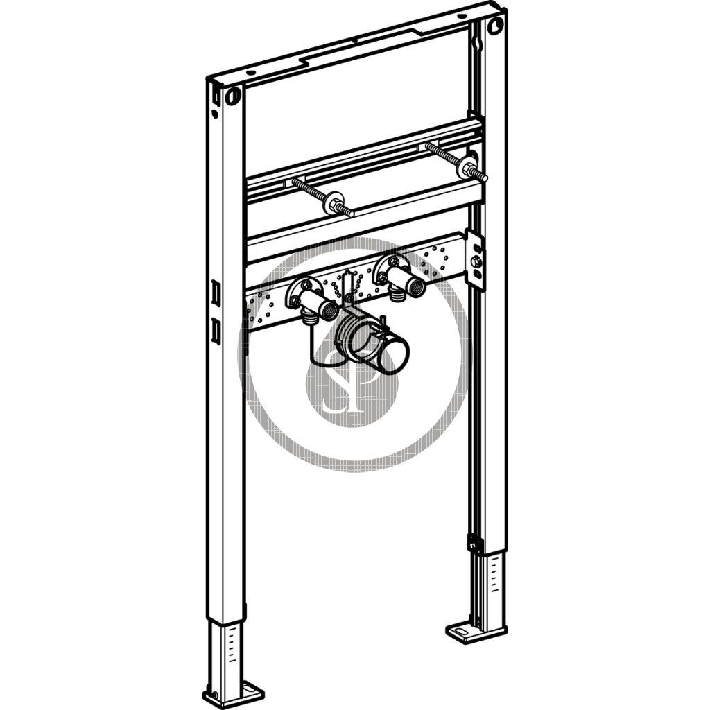 GEBERIT - Duofix Montážní prvek pro umyvadlo, 82–98 cm, pro stojánkové armatury (111.485.00.1)