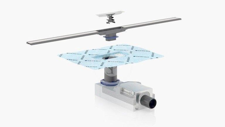 GEBERIT - CleanLine Nerezový sprchový kanálek, 300-900 mm, pro tenké obklady (154.458.00.1)