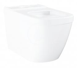 GROHE - Euro Ceramic WC kombi mísa, rimless, Triple Vortex, PureGuard, alpská bílá (3933800H)