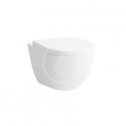 Laufen - Pro Závěsné WC, 530x360 mm, rimless, s LCC, bílá (H8209664000001)