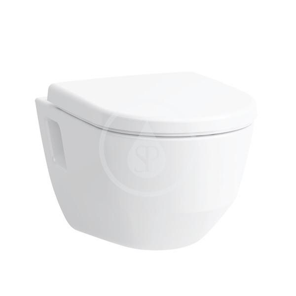 Laufen Pro Závěsné WC, 530x360 mm, rimless, bílá H8209640000001