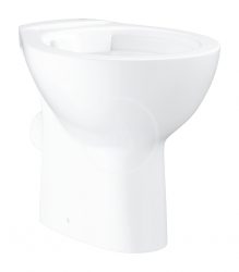 GROHE - Bau Ceramic Stojící WC, rimless, alpská bílá (39430000)