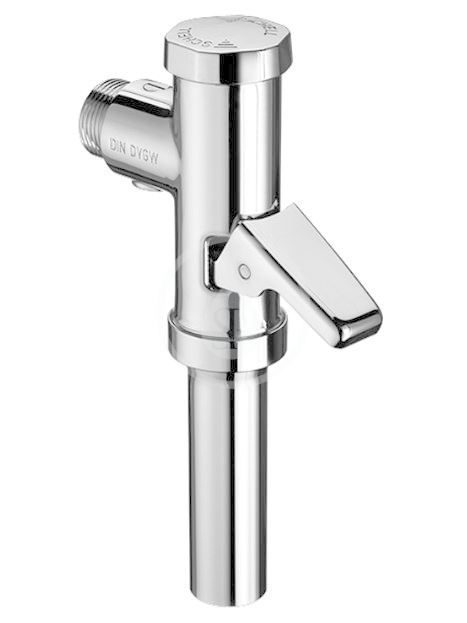 SCHELL Schellomat Tlakový splachovač WC s páčkou, chrom 022380699