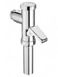 Schellomat Tlakový splachovač WC s páčkou, chrom (022380699) - SCHELL