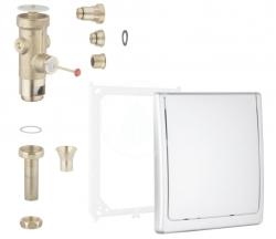 GROHE - Tlačné ventily Tlakový splachovač pod omítku, chrom (42901000)