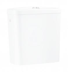 GROHE - Bau Ceramic Splachovací nádrž k WC kombi, 343x153 mm, boční přívod vody, alpská bílá (39437000)