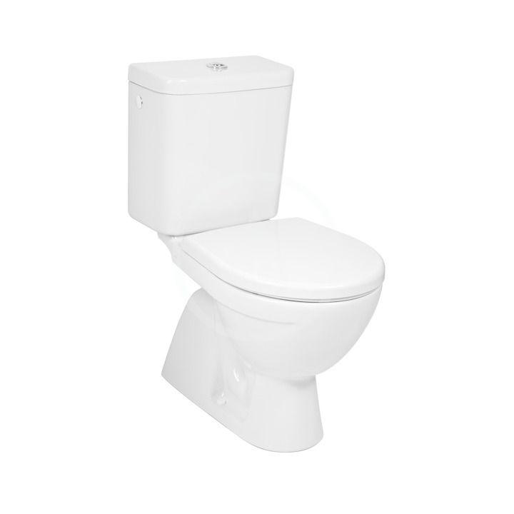 JIKA Lyra plus WC kombi, svislý odpad, boční napouštění, bílá H8263870002413