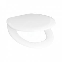 JIKA - Zeta WC sedátko, Antibak, bílá (H8932740000001)