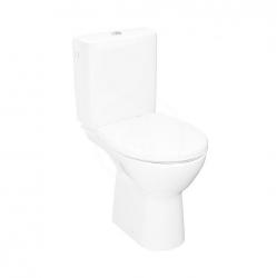 JIKA - Lyra plus WC kombi set s nádržkou, vodorovný odpad, Rimless, bílá (H8273860002801)