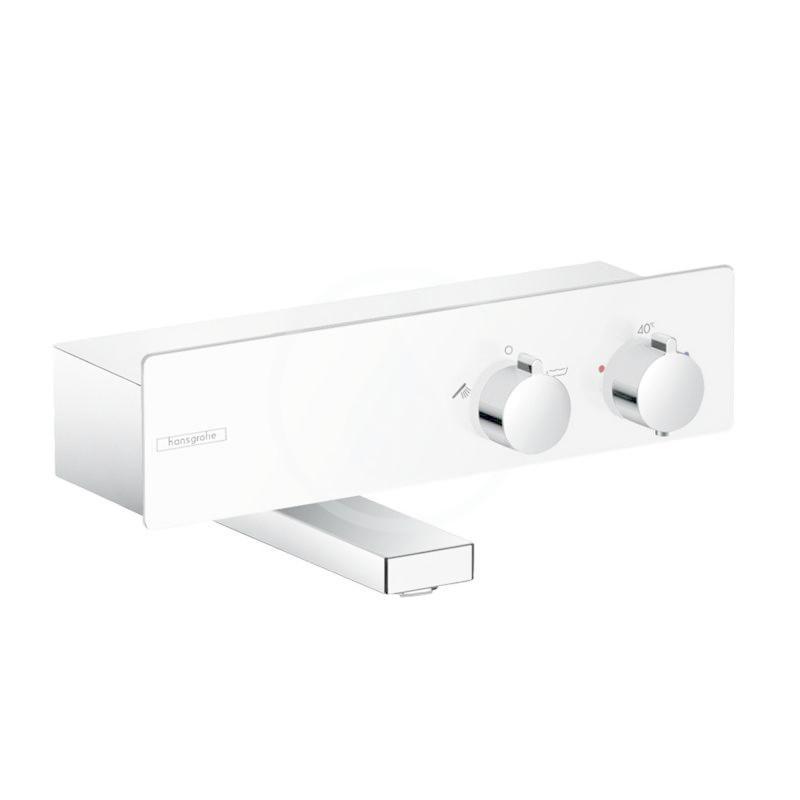 HANSGROHE ShowerTablet Termostatická vanová baterie 350, bílá/chrom 13107400