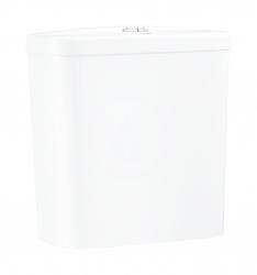 GROHE - Bau Ceramic Splachovací nádrž k WC kombi, 343x153 mm, spodní přívod vody, alpská bílá (39436000)
