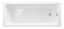 DURAVIT - D-Code Vana 1600x700 mm, alpská bílá (700096000000000)