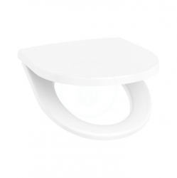 JIKA - Lyra plus WC sedátko s poklopem, bílá (H8903840000631)