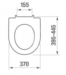 JIKA - Lyra plus WC sedátko s poklopem, Slowclose, bílá (H8903850000631), fotografie 2/1