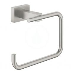 GROHE - Essentials Cube Držák toaletního papíru, kartáčovaný Hard Graphite (40507AL1)
