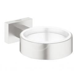 GROHE - Essentials Cube Držák skleničky/mýdelníku, supersteel (40508DC1)