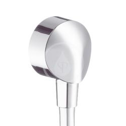 HANSGROHE - Fixfit Přípojka hadice E bez zpětného ventilu, chrom (27454000)