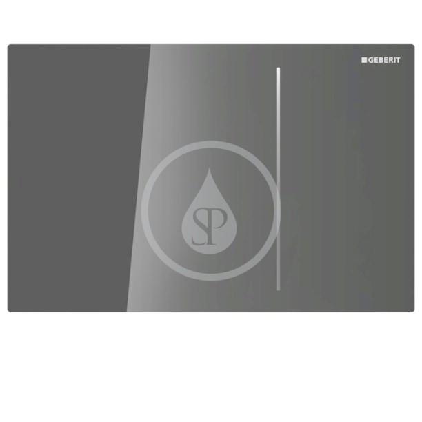 GEBERIT Sigma70 Ovládací tlačítko Sigma70, pro splachovací nádržku pod omítku Sigma 12 cm, černá 115