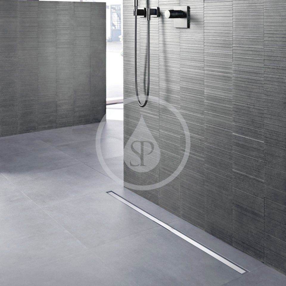 GEBERIT - CleanLine Nerezový sprchový kanálek, 300-1300 mm, leštěný kov (154.451.KS.1)