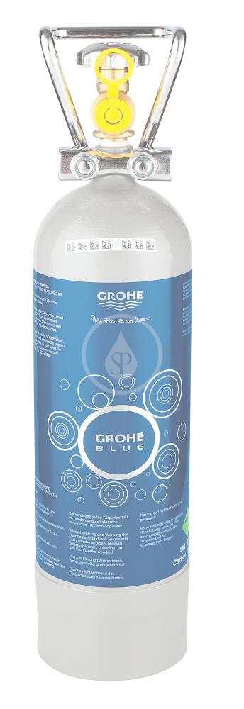 Náhradní díly Tlaková láhev CO2 pro Grohe Blue Professional, 2 kg 40423000