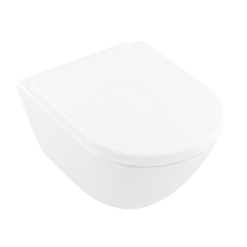 VILLEROY & BOCH Subway 2.0 Závěsné WC, DirectFlush, CeramicPlus, alpská bílá 4609R0R1