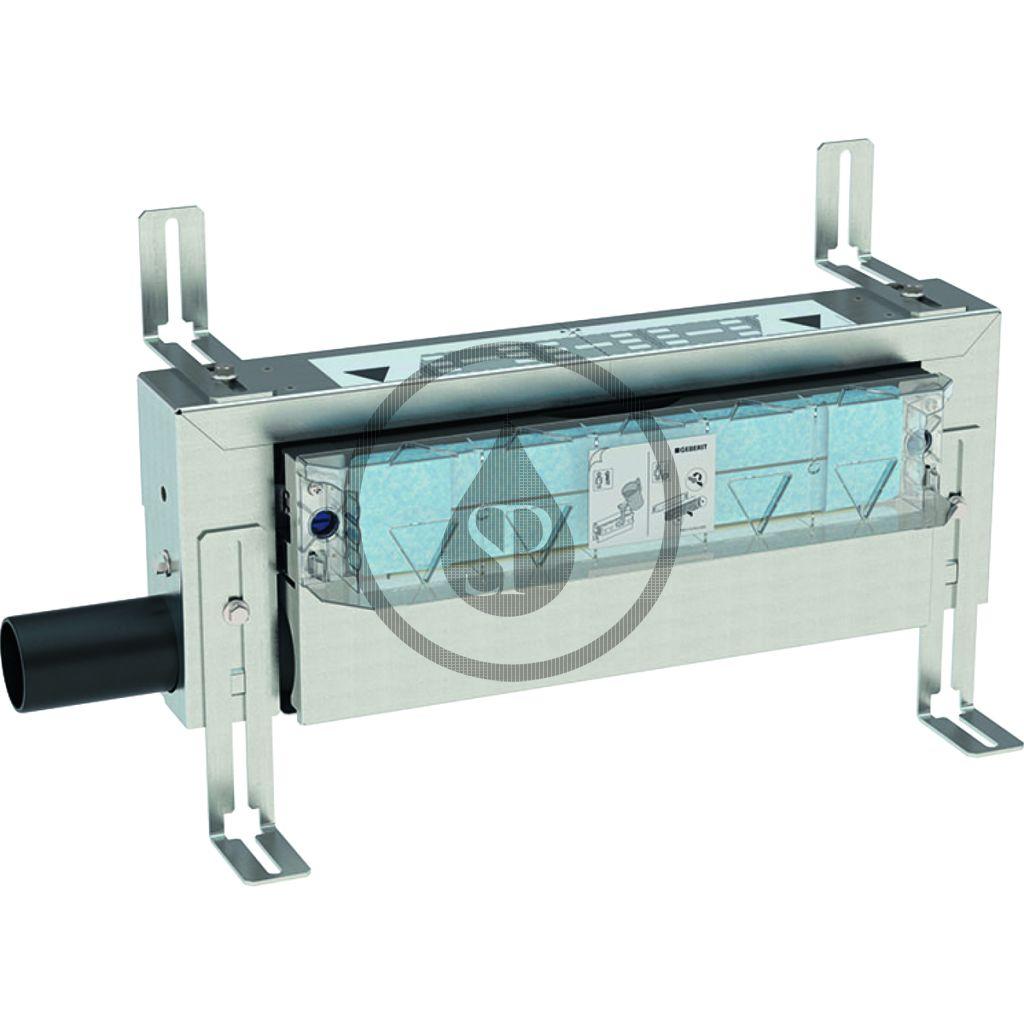 GEBERIT Kombifix Montážní prvek pro sprchu, s odtokem ve stěně, pro výšku mazaniny u vtoku 65–90 mm